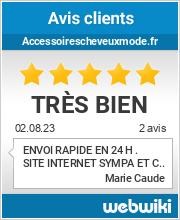 Avis clients de accessoirescheveuxmode.fr