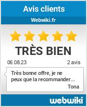 Avis clients de webwiki.fr